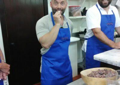 Chocolate making class